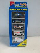 Hot Wheels 5 Car Gift Pack Action News Team W Jeep215