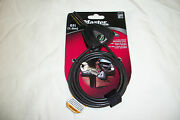 Master Lock 8417d Python Anti Theft Security Locking Cable 6' Bicycle Cooler