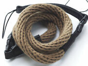 Khaki Woven Cotton Rope Camera Strap With Loop Connection By Cam-in - 95cm