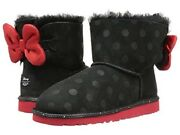 New Ugg Disney Minnie Sweetie Bow Boots Limited Edition Kids Size 4 Fits Women 6