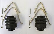 1937-1940 Chrysler, Desoto Universal Joint Boot And Clamp Kit 6 Cylinder Cars