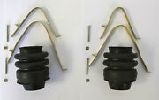 1937-1940 Chrysler Desoto Universal Joint Boot And Clamp Kit 6 Cylinder Cars