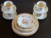 20 Piece Set Asian Song By Noritake 4 X 5 Piece Setting Dinner For 4,or 8