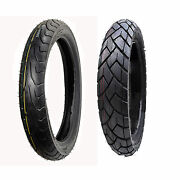 Front And Rear Max Motosports Motorcycle Tire 100/90-19 And 130/80-17