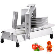 Vevor Commercial Tomato Slicer Cutter Fruit Dicer 3/16 Manual Restaurant