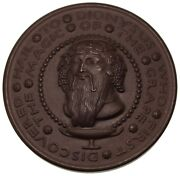 Society Of Medalists 1930 Hail To Dionysus Bronze Medal / Paul Manship Wine