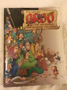 New Mint Condition In Plastic Hardback Double Book On Groo. Author Signed.