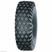 2 New 4.10/350-4 Deestone D256-stud Tires 4 Ply Free Shipping