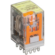 Sell 4pdt Relay My4 With Led And Test Button Optional Dc12v Dc24v Ac110v Ac220v