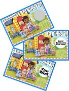 Doc Mcstuffins Personlized Scratch Off Offs Party Game Cards Birthday Favors