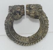Rare Antique Ethnic Tribal Silver Jewelry Bally Baby Anklet Rajasthan India
