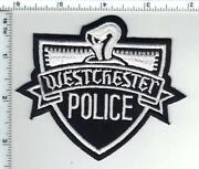 Westchester Police Illinois Shoulder Patch - New From The 1980's