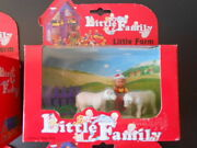 Vintage Little People Family Play House Sylvanian Fisher Farm Animals Sheep
