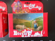 Vintage Little People Family Play House Sylvanian Fisher Farm Animals Pig