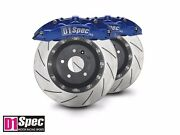 Front Rs Blus Forged Big Brake 6pots Caliper With 355mm 2pcs Disc For W204