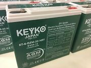 Electric Scooters - Bikes - Motorcycles Sealed Lead Acid Battery 12v 24ah