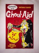 Last1 70s Kool Goul-aid Topps Vtg Wacky Packs Packages Put-ons Iron-on T-shirt
