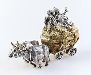 Silver Statue-box Cossaks On Cart