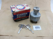 Universal Starter Switch Nos May Fit For Old Vintage Car Antique Or Motorcycle