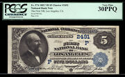 5 1882 Vb The First National Bank Of Los Angeles Tough Value Back 4 California