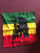 Hippie Wall Hanging -- Bob Marley Tapestry 21x21 Inches