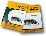 Operators Parts Manual Set For John Deere 336 Square Baler Catalog Twine And Wire