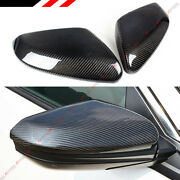 For 2016-2021 Honda Civic Carbon Fiber Side View Mirror Replacement Cover Cap