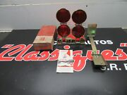 Vintage Ford Accesorie Nos Ford Flare Kit Reflector 1950 1960 Fairlane Truck T