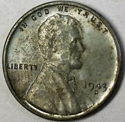 1943-d Steel Cents Almost Uncirculated Coins 50 Lincoln Uncleaned Pennies