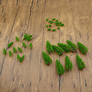 Diy Mini Scenery Model Scale Pine Trees Dollhouse Train Toy Hand Making Crafts