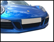 Zunsport Silver Full Grille Set With Parking Sensors For Porsche 991 Gts 2015