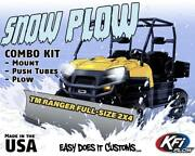 Polaris Ranger Tm 2x4 Full-size - 2004-2006 - Kfi Utv 60 Snow Plow Combo Kit