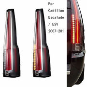 2 Tail Lights Led For Rear Lamp Escalade Cadillac 2016 Model Assembly 2007-2014