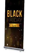 48 X 96 Roll-up Retractable Banner Stand For Portable Trade Show Retail+ Print