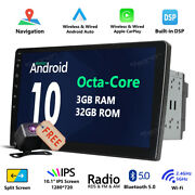 Obdii 2 Din 10.1 Android 10 Car Stereo Gps 4-core Lcd Monitor Double Din No Dvd
