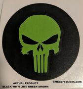 Punisher Wheel Center Cap 3.5 Overlay Decals Choose Your Colors 5 In A Set