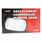 Commercial Mirror Head And Glass - 10 X 6 Flat - Universal