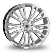 23 Hawke Halcyon Alloy Wheels Fits Range Rover Vogue Sport Discovery Silver