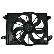 Tyc 09-13 Challenger Charger 300 Radiator And A/c Condenser Cooling Fan Motor Assy