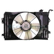 For 03-08 Corolla Matrix Vibe 1.8l Radiator Ac Condenser Cooling Fan Motor Assy