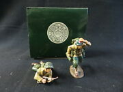 King And Country Original Toy Soldiers D Day 4 War Diecast Set Of 2 Rare