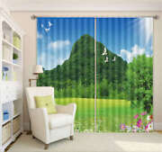 Halcyon Nature View 3d Curtain Blockout Photo Printing Curtains Drape Fabric