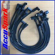 Ford Mustang 289 And 302 Accuspark 8mm Black Silicon Performance Ht Leads