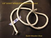 40 Feet 3/8 Stove Seal Tape Fire Rope 3/8 Gasket Wood Stove Adhesive Backed.