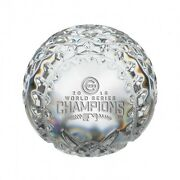 Waterford 2016 Mlb World Series Chicago Cubs Championship Baseball Paperweight