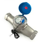 2.0 Inch Water Meter - Stainless Steel - Agriculture Irrigation Or Well Pumps 52