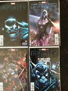 Infinity Comic Book Lot, 10 Issues, Marvel, Nm, Vol. 1, 2013, Variants