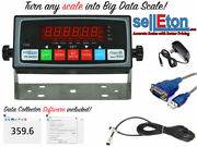 Big Data Scale Indicator/ Data Collecting Capability With 4+4 Cable/ Led Display
