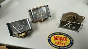 46 47 48 Chrysler Town And Country Cluster Gauge Amp Oil Fuel Mopar Wow Tnc