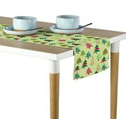 Decorated Christmas Trees Table Runners - 12x72 Or 14x108